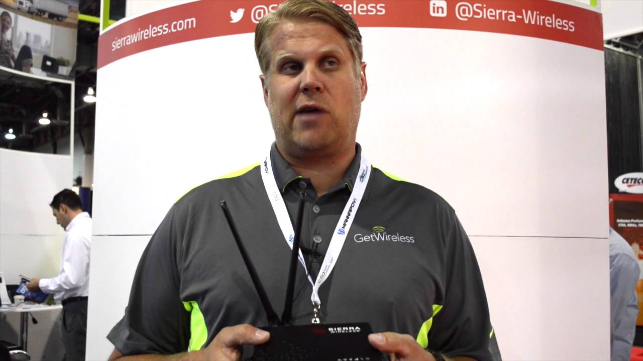 GetWireless features Sierra Wireless GNSS LTE vehicle router at CTIA Super  Mobility 2016