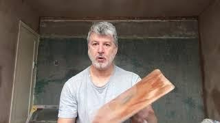 Plastering for beginner, trowels