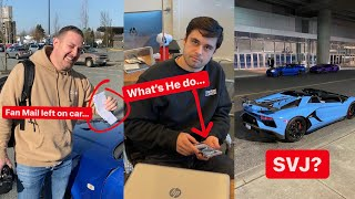 The Lamborghini SVJ you wanted... Reading Fan MAIL left on Damon's GTR... What's Ryan do?