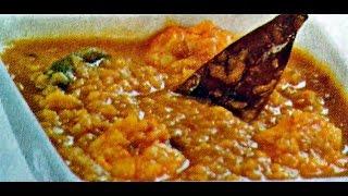 Prawn Moong Dal Bengali Recipe - How to Cook Chingri Mach diye Mug Dal