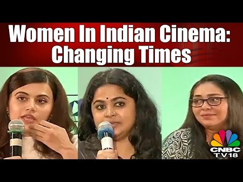 """Special Discussion with Taapsee Pannu on """"Women in Indian Cinema"""" 