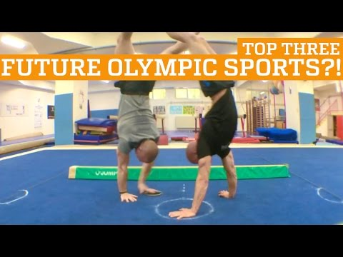 TOP THREE FUTURE OLYMPIC SPORTS?! | PEOPLE ARE AWESOME