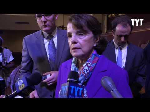 Sen. Dianne Feinstein FLIP FLOPS On Syrian Regime Change