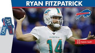 """""""It was such a special place to play""""   Ryan Fitzpatrick Joins One Bills Live"""