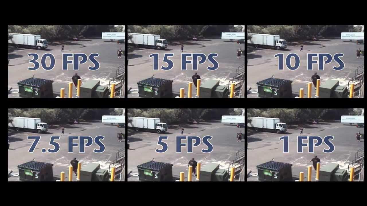 Everfocus DVR - Frames Per Second - YouTube