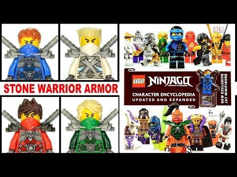 LEGO® Ninjago™ Stone Warrior Armor Jay Kai Zane & Lloyd + 2016 Character Encyclopedia Page By Page