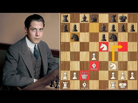 Much to Learn, You Still Have | Capablanca vs Alekhine | Savorin Cup (1913)