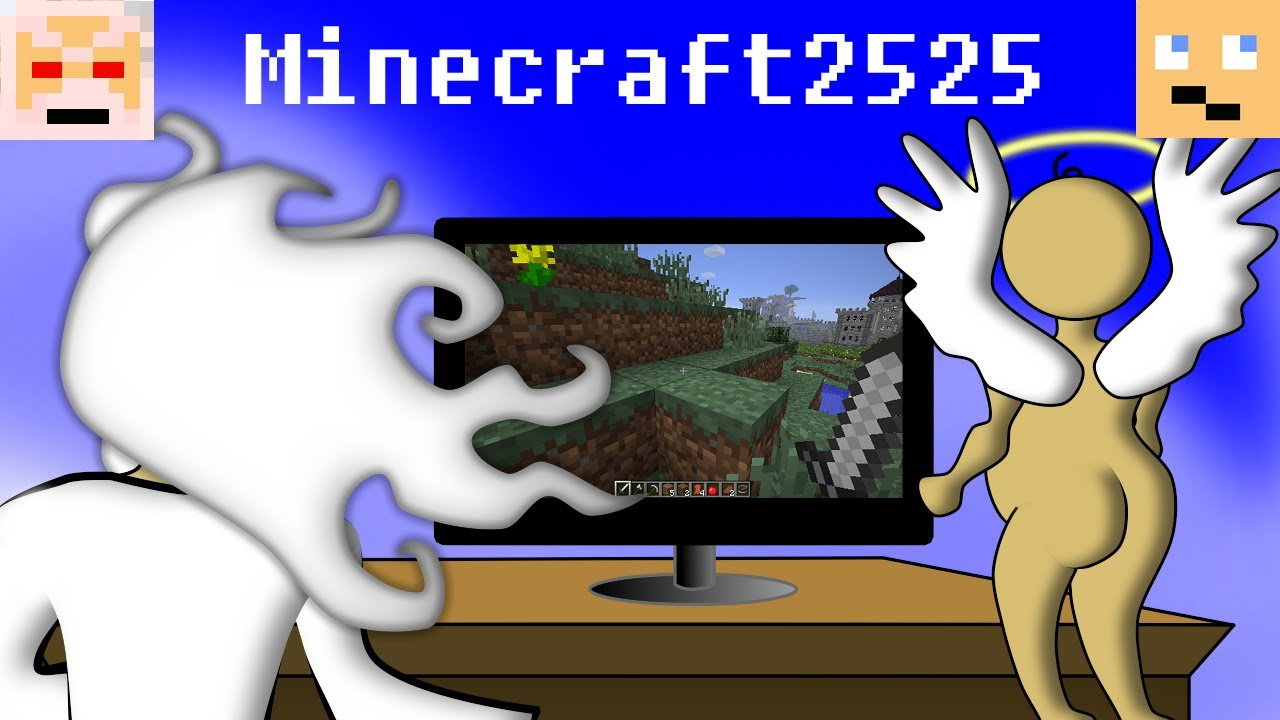 If God Played Minecraft - YouTube
