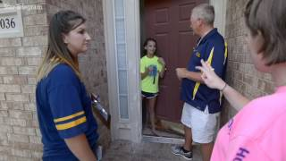 Hillwood teachers visiting homes to connect with students, families