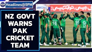 Pak cricket team can be sent back home, New Zealand warns  | Oneindia News