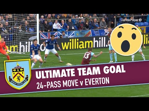 WHAT A GOAL | 24-Pass Move v Everton