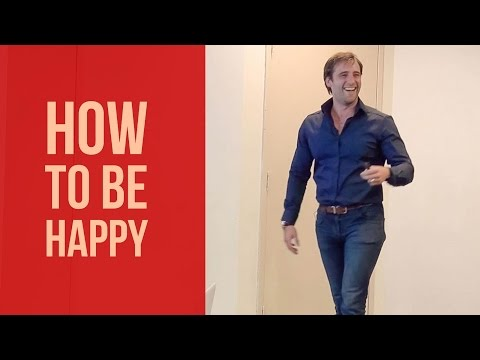 How To Be Happy - Stepping Off The Hedonic Treadmill