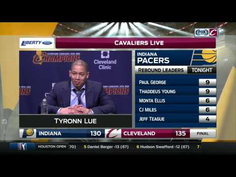 Cavaliers coach Tyronn Lue on in-game altercation between LeBron James, Tristan Thompson
