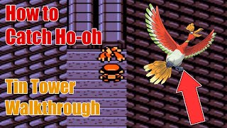 pokemon gold silver walkthrough hd part 34 tin tower and ho oh