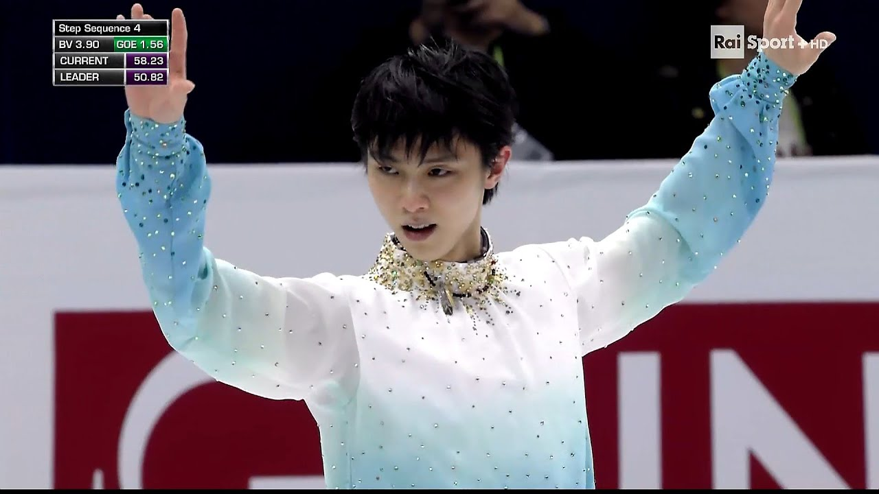 4CC20 - Yuzuru Hanyu - SP (RAI ITA 1080p)
