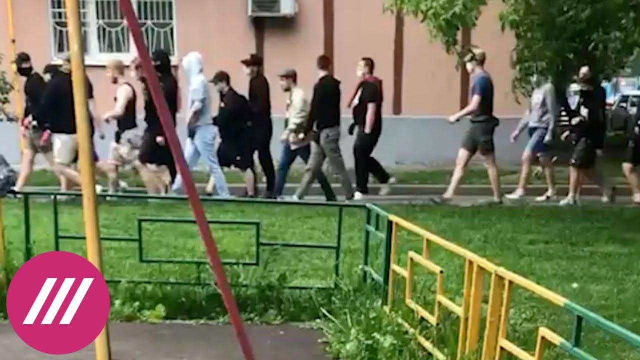 Такого не было уже много лет в Москву возвращается уличная война между неонаци и антифашистами