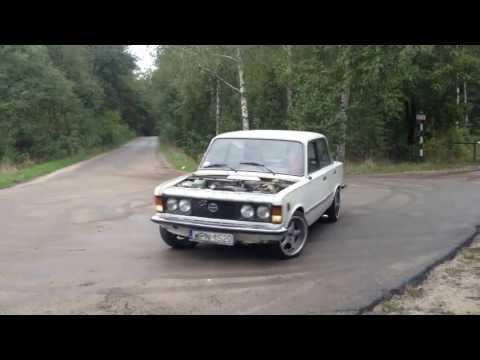 Fiat 125p 2.0 16v kompresor 0,5 bara, test drive