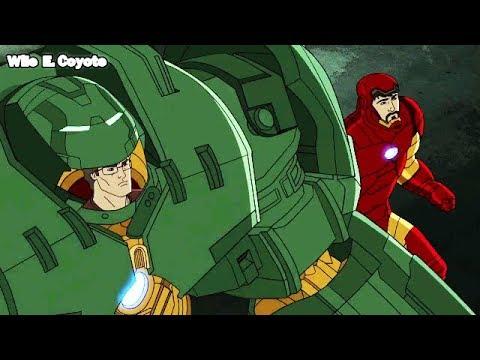 Bruce Banner Usa la Hulkbuster ♦ Los Vengadores Unidos T03E08 ♦ Español Latino