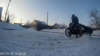 Эксплуатация мотоцикла Урал зимой c карбюраторами Keihin PZ 30 с ускорительным насосом