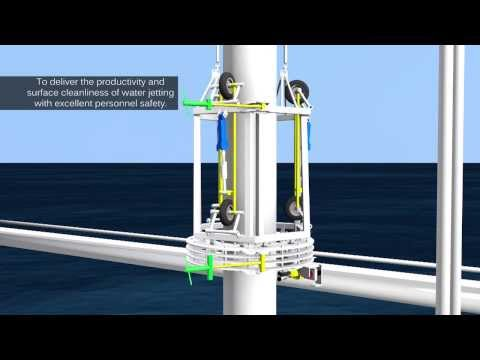 Automated Sub Sea Pipe Cleaning Tool