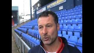 Reaction: Crawley Town Head Coach Paul Groves on 1-1 draw at Oldham