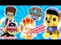 PAW PATROL Nickelodeon Mission Paw Sweetie the Robber Turns Chase Into Giant Paw Patrol Beanie Boo