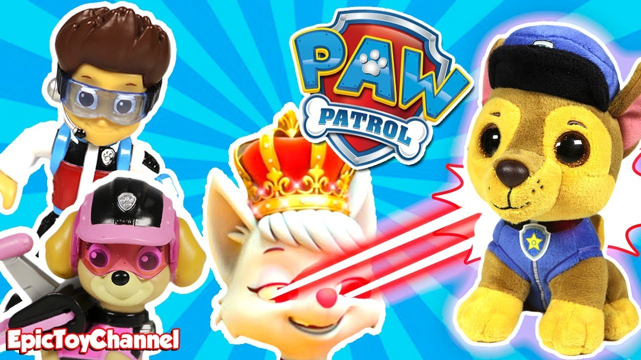 8cda9ebd063 PAW PATROL Nickelodeon Mission Paw Sweetie the Robber Turns Chase Into  Giant Paw Patrol Beanie Boo