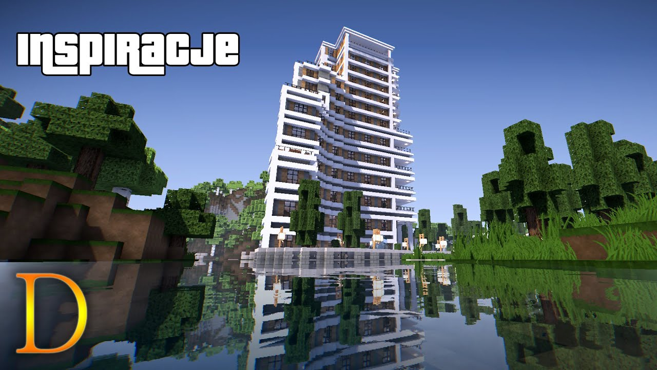 How to Build a Minecraft Hotel