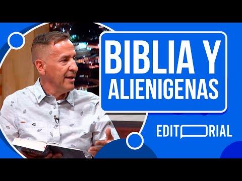 En la biblia hay evidencia alienígena, Hernán Dario Lopera  en NCN #Editorial