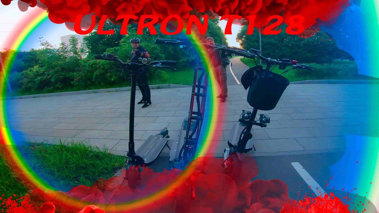 Сравнительный замер скорости Ultron T128,  Kugoo G-Booster, Dualtron Raptor