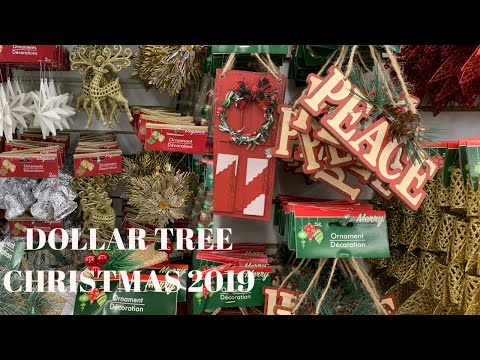 DOLLAR TREE CHRISTMAS 2019!!!| HOLIDAY EDITION NEW FINDS!!! Shop With Me!!!!