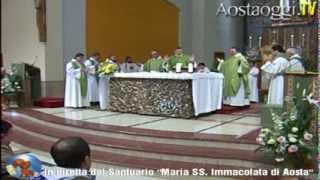 Repeat youtube video Parrocchia Santuario Maria Immacolata di Aosta Santa Messa in Diretta Video 9/2/2014