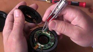 Canon Objektiv EFS 18 - 55mm Autofocus Reparatur Flexband erneuern