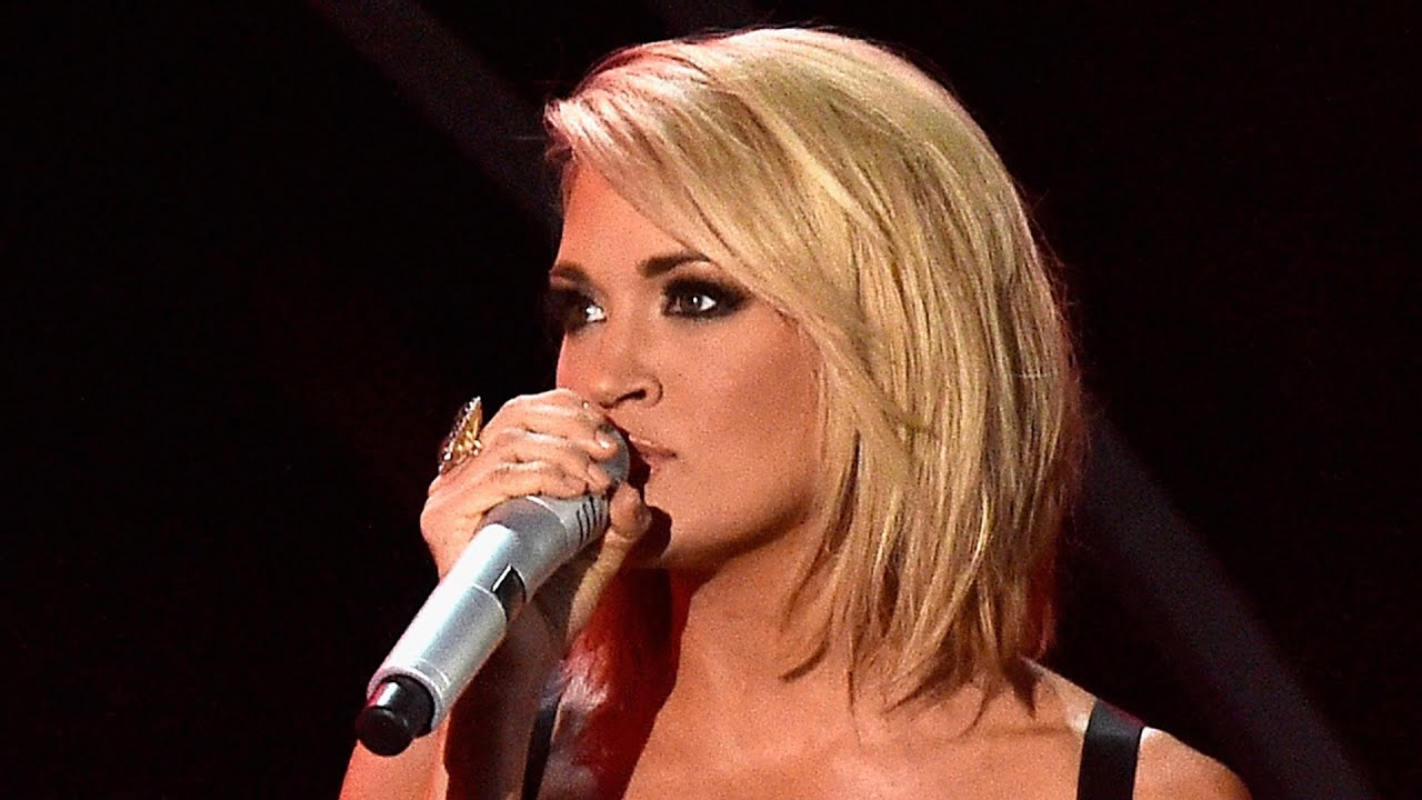 carrie underwood reveals why her 'mom' bob hair routine is easier