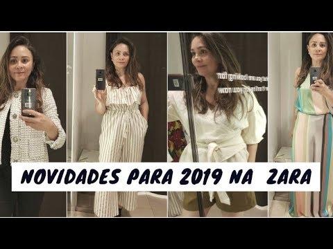 75355a1ac PROVADOR FASHION DA ZARA COM PEÇAS QUE VÃO BOMBAR EM 2019 - YouTube