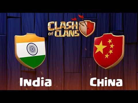 india-vs-china-|-clan-war---clash-of-clans---coc