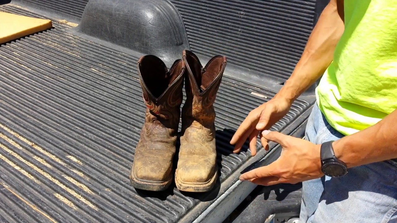 Commander X5 Western Work Boots