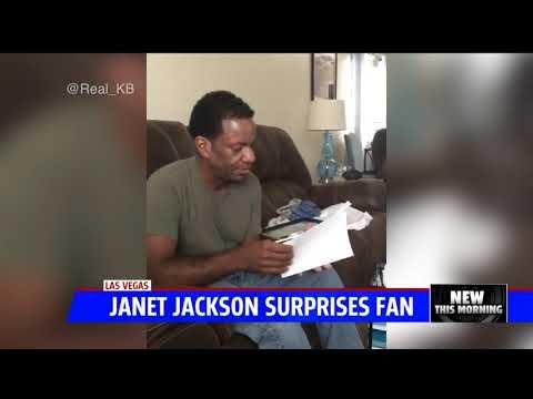 Vanessa J - Janet Suprises #1 Fan At Vegas Concert