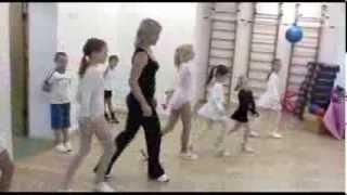 Детские спортивные танцы. Талантливые преподователи - талантливые дети.(Зажигательные спортивные танцы. Юные воспитанники студии современного и спортивного танца