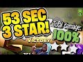 """53 SECOND 3 STAR WITH GIBARCH! - Free To Play TH10 - """"Clash of Clans"""""""