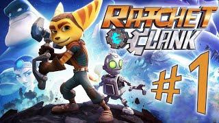 Ratchet and Clank - Parte 1: Patrulheiro Galático!?!?! [ Playstation 4 - Playthrough PT-BR ]