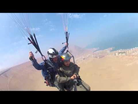 Paragliding - Iquique, Chile