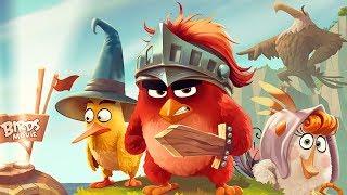 Мультик Игра для детей Энгри Бердс. Прохождение  Angry Birds Epic серия 1