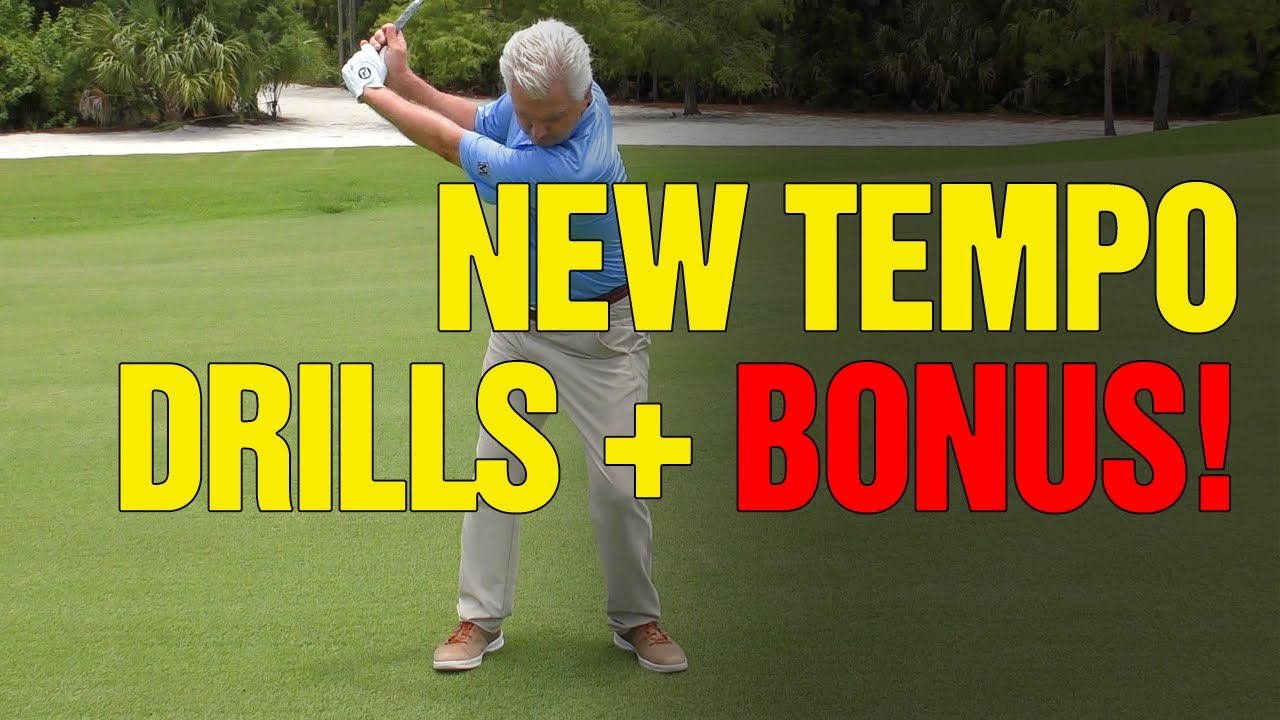 [NEW Drills + Bonus] Golf Swing Tempo Drills For Simple, Consistent, Powerful Swing