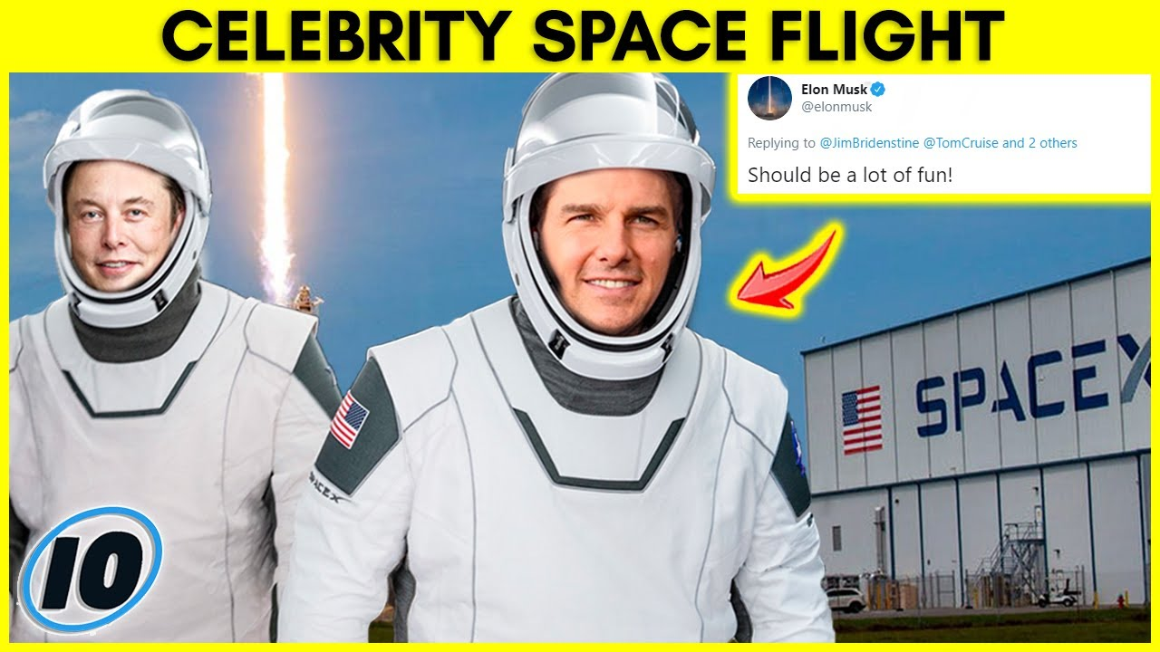 Elon Musk Sending Tom Cruise to Space For This Reason