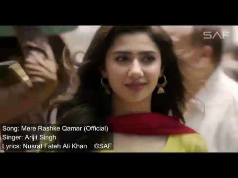 Mere Rashke Qamar   RAEES  VIDEO SONG   Shah Rukh Khan, Mahira Khan   YouTube