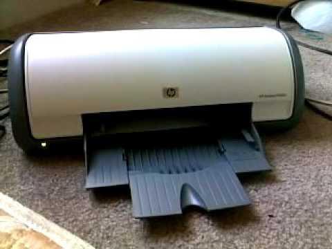 old HP Deskjet empty ink cartridges intermediate clean