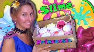 MEGA SLIME Paket von Slimeprinzessin 🤩 Der große Slime Test 👐