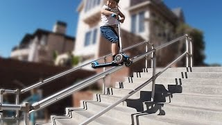 My 5 Year Old Son Grinds Hand Rail! (MIRACLE)