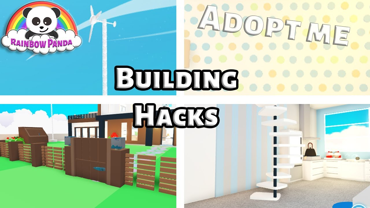 Adopt Me Tutorial -  🏠 Adopt Me Building Hacks 🛠